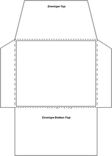 5x7 Envelope Template. number 9 10 5x7 4x6 9x12 and other ...