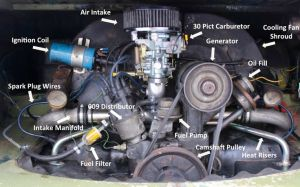 vw beetle engine blueprint  Google Search | VW Beetle