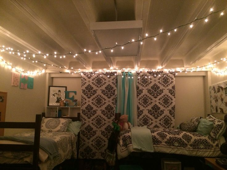 Christmas Lights In My Dorm In Gardner Hall At Abilene