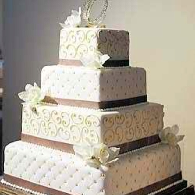Square Quilted Wedding Cake Photos Pinterest Quilt