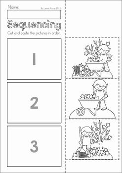 Autumn Fall Preschool No Prep Worksheets Amp Activities