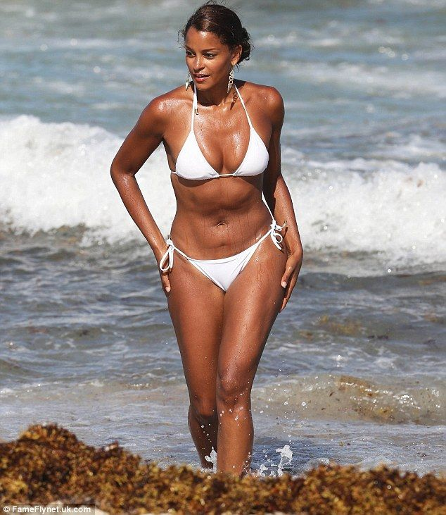 Not To Be Outdone Claudias Model Pal Aisha Thalia Surely