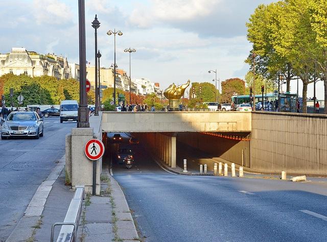 The Alma underpass, Paris Dodi fayed, Car crash and