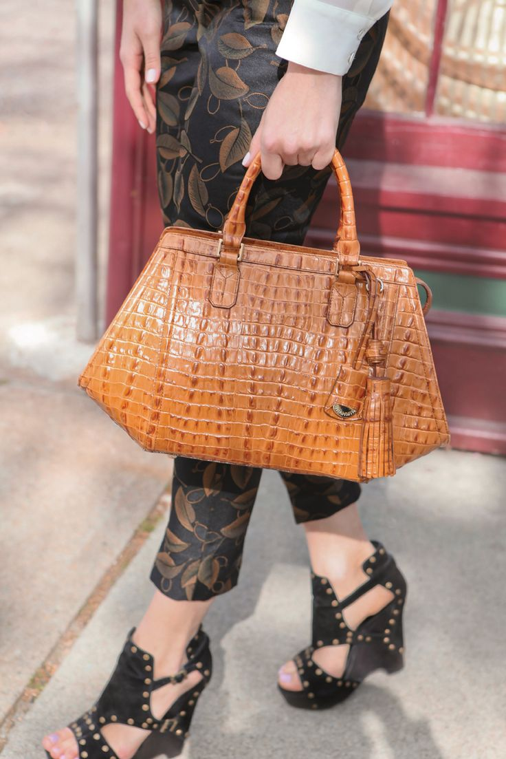 The Arden Satchel in Whiskey La Scala Shop at www