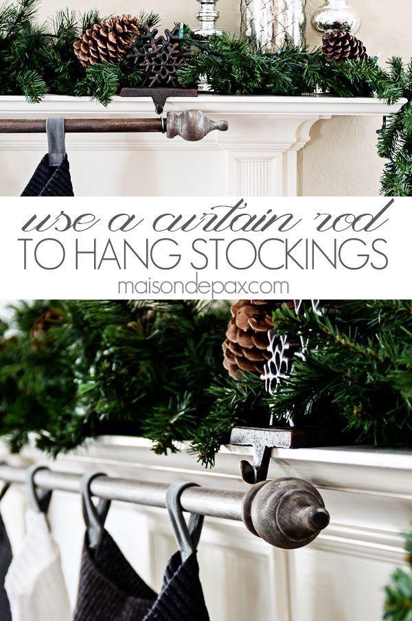 1000 Ideas About Stocking Hanger On Pinterest Christmas Stocking Holders Christmas Stocking