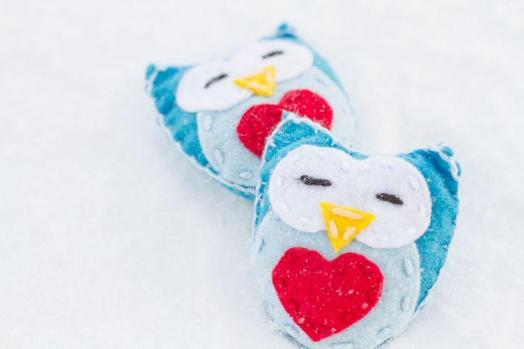17 Best Images About Felt Owls 3 On Pinterest Free