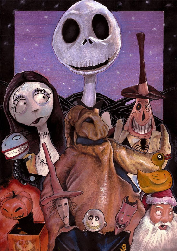 Nightmare before Xmas Cast Obsession { Nightmare Before