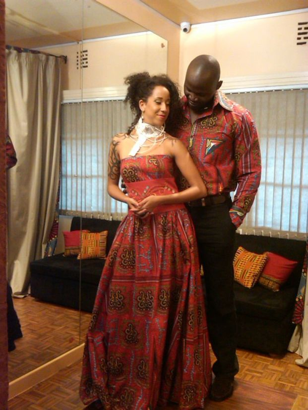 Matching Couples Ankara styles
