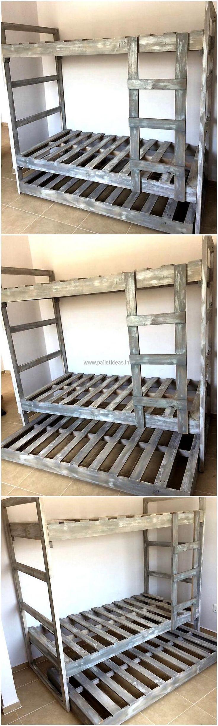 Best 25 Pallet Bunk Beds Ideas On Pinterest Bunk Bed