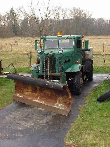 Vintage Oshkosh Snow Plows