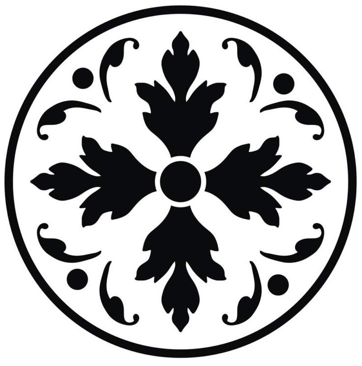 circle ornament scroll saw patterns Pinterest