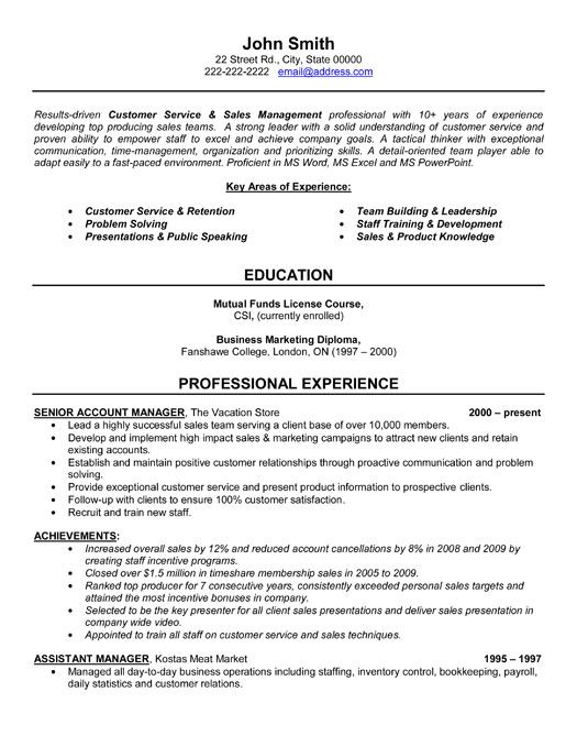 Customer Service Manager Resume Examples   Data Entry Resumes