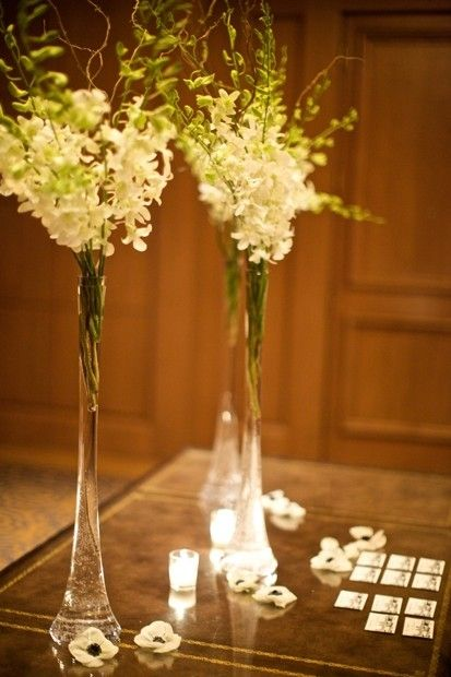 Tall Skinny Flower Arrangements Like These Vases Better