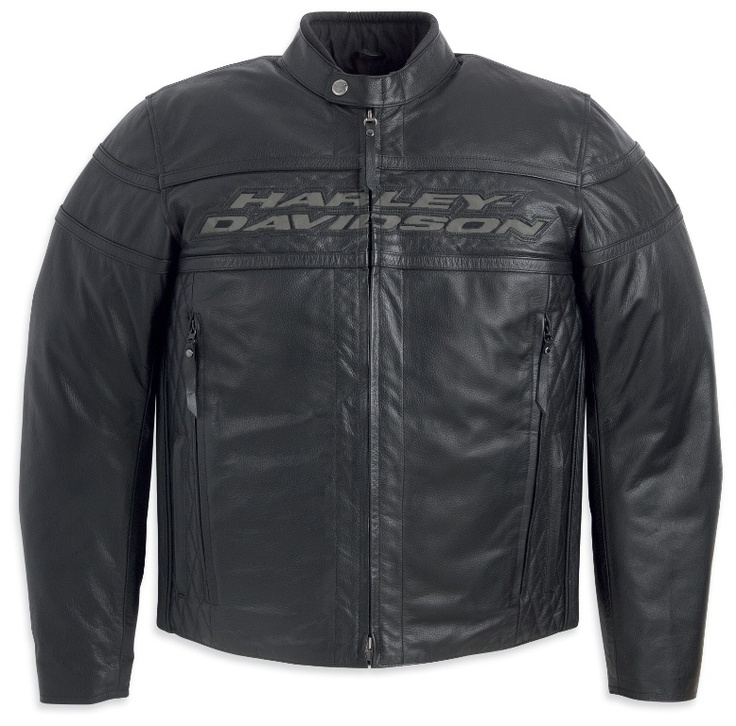 Mens Harley Davidson Competition III Leather Jacket 98024