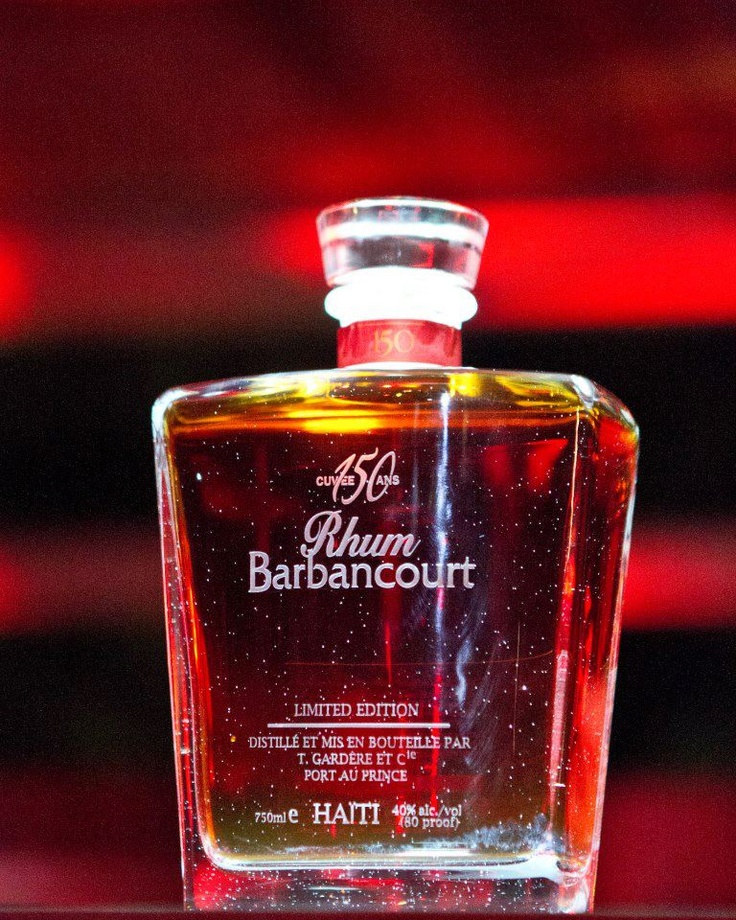 Haitian Rhum Barbancourt. La cuvee de 150 ans Haiti Rhum