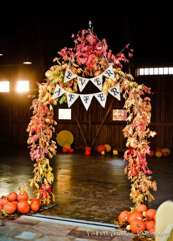 25 Best Ideas About Fall Wedding Arches On Pinterest