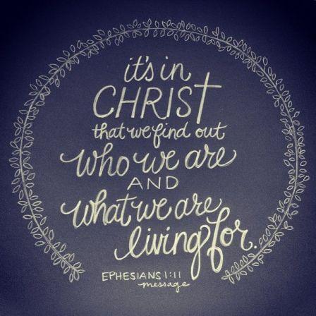 Ephesians 1:11: