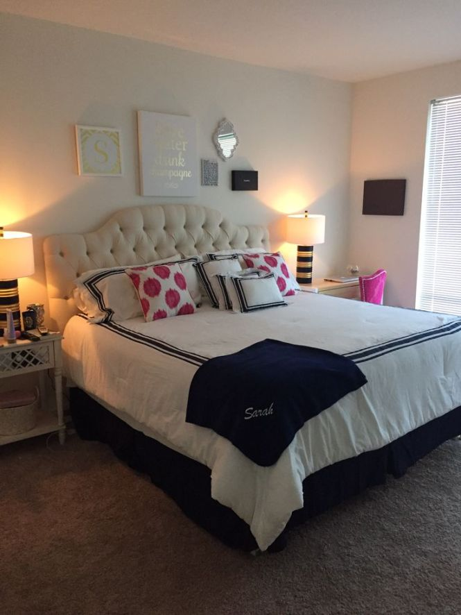 Twenty Somethings First Apartment Bedroom