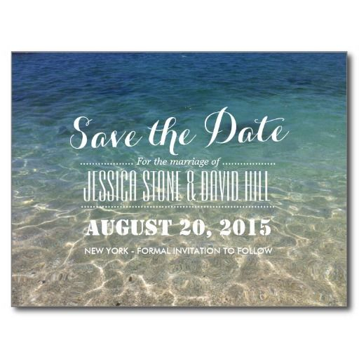 Inexpensive Save Date Cards