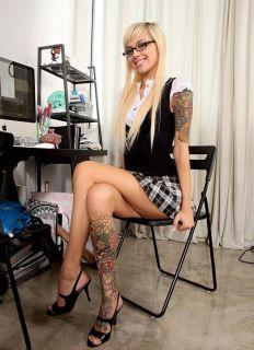 Resultado de imagen para estrellas porno tatuadas