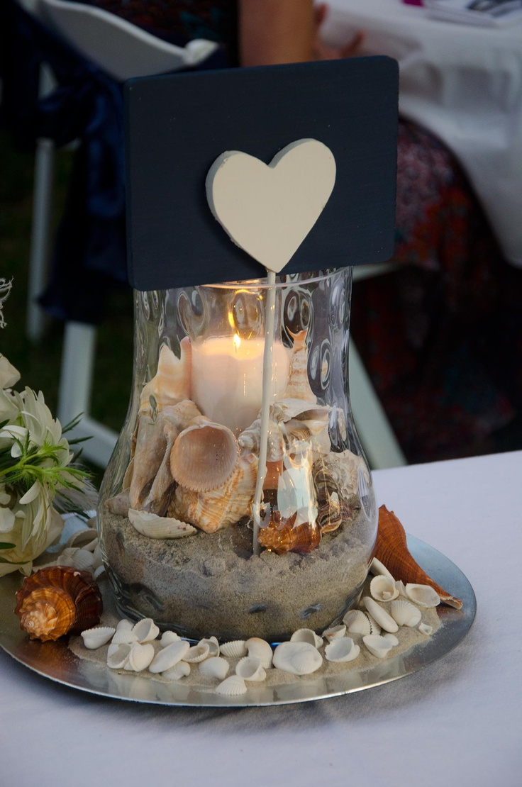 25 Best Ideas About Seashell Centerpieces On Pinterest