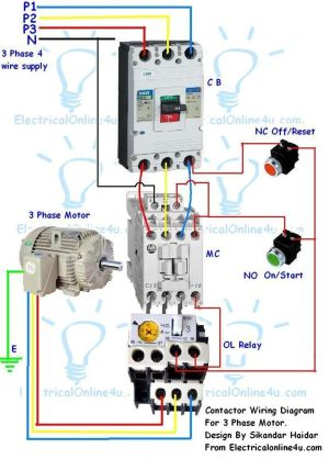 stop start wiring diagram for air pressor with overload  Google Search | Corne | Pinterest