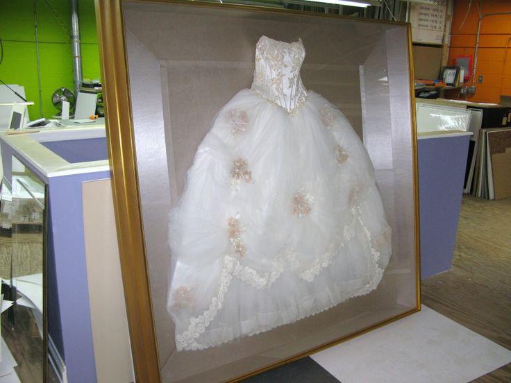 17 Best Ideas About Wedding Dress Frame On Pinterest