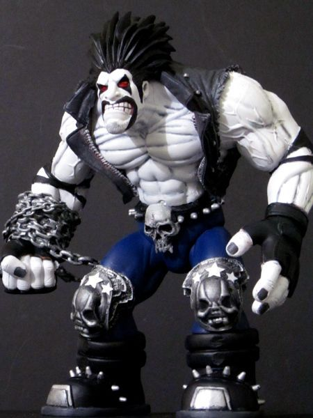 LOBO Biggest Baddest Bastich Custom Action Figure