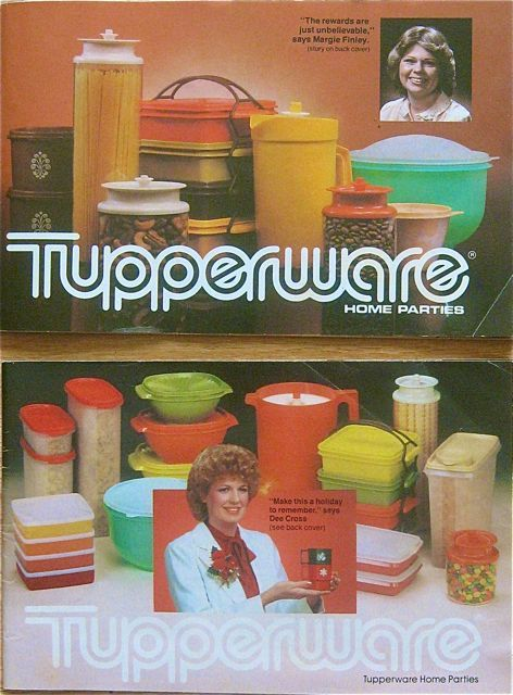 Tupperware Old Catalogs