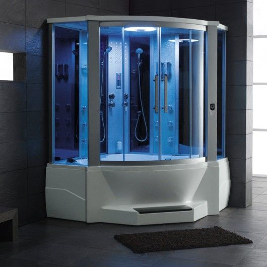 Ariel 701 Steam Shower With Whirlpool Bathtub Is The