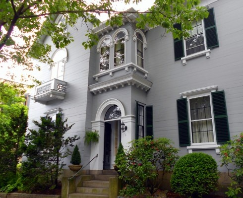 An Italianate House In Salem Massachusetts Built 1850