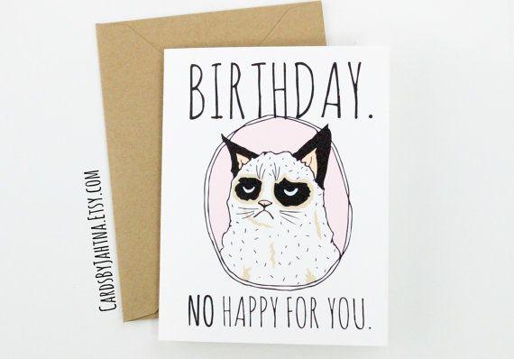 17 Best Ideas About Grumpy Cat Birthday On Pinterest