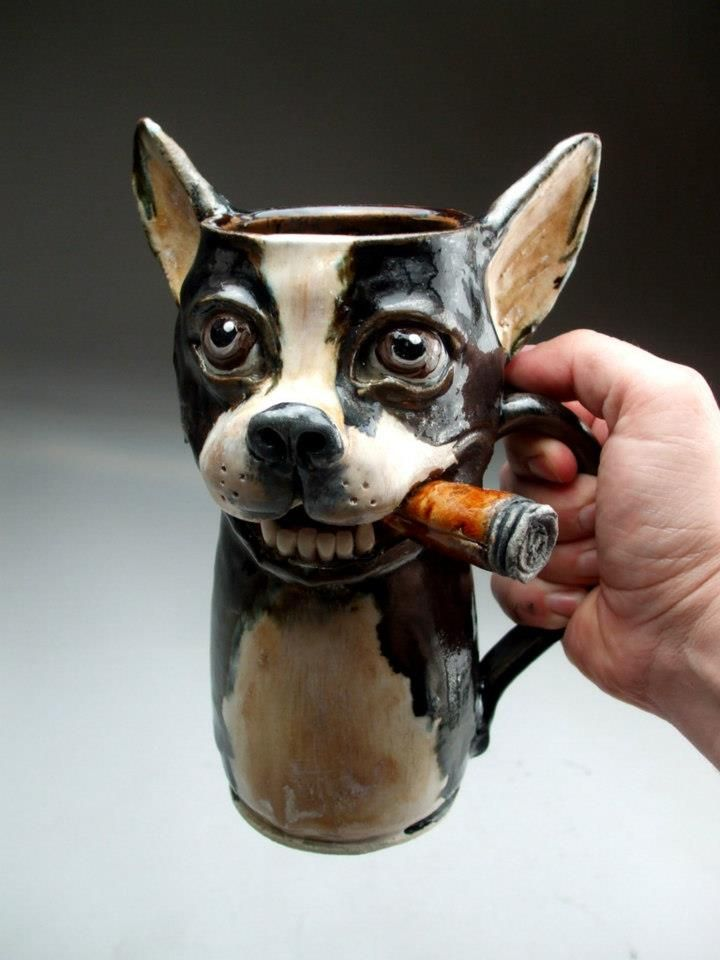 82 Best Images About Clay Animal Mugs On Pinterest Ceramics Ceramic Mugs And Ceramic Animals