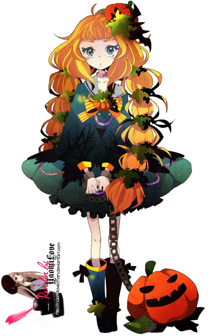 halloween anime girl render Google Search Holloween