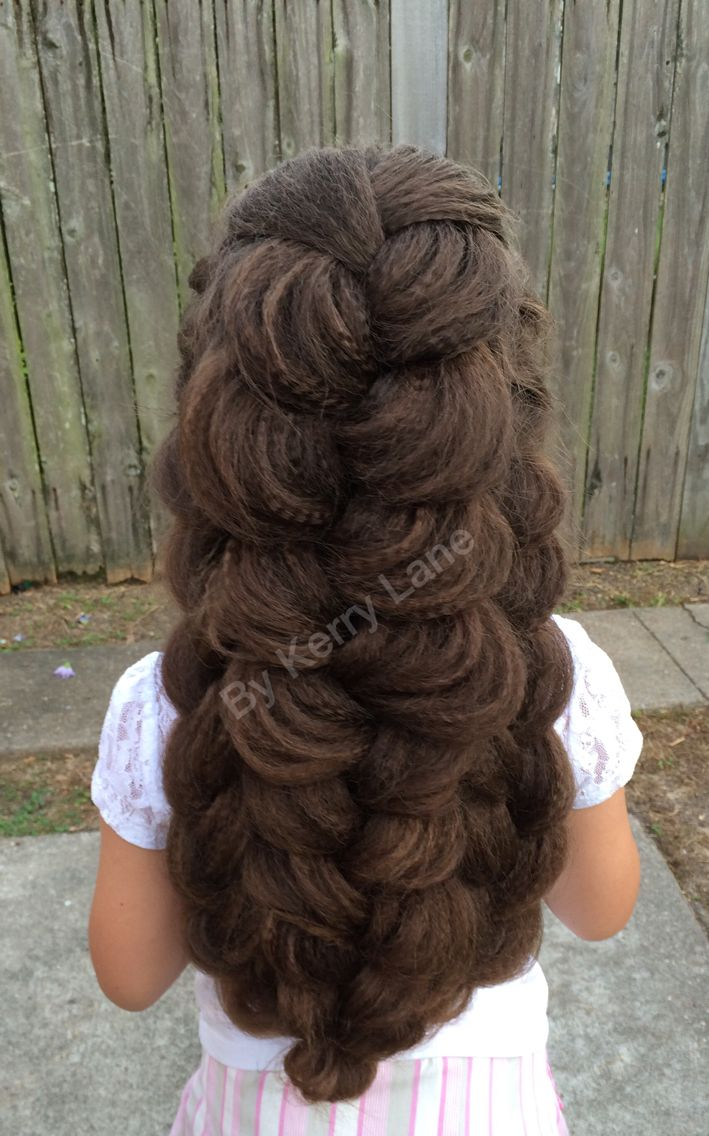 Expanded Triple French Braid Learn Do Teach Hairstyles