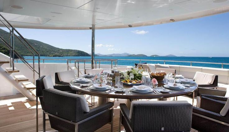 1000 Images About 08 DINING Yachts On Pinterest