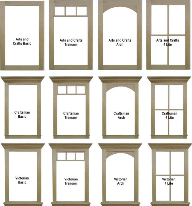Window Casing And Comparisons