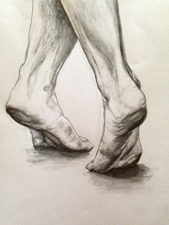 Here I like the way the feet are positioned and want to draw inspiration from this for my own drawings with the shading but also