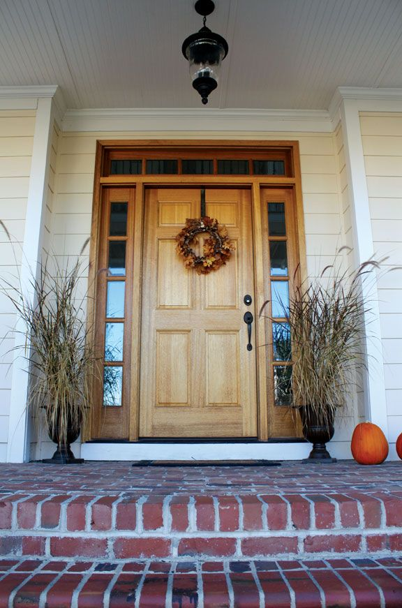 Colonial 6 Panel Door With 5lt Sidelights And Transom