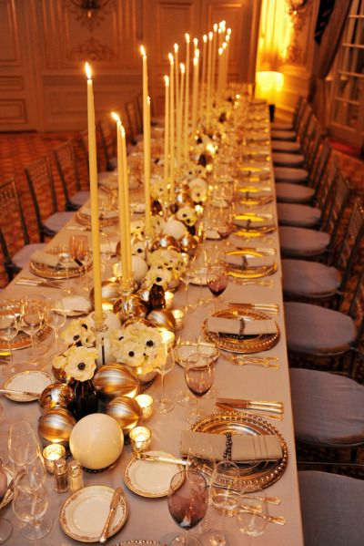 Love The Extra Long Tapered Candles Table Settings