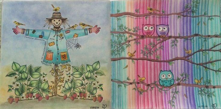 39 Best Images About Scarecrow Secret Garden Espantalho