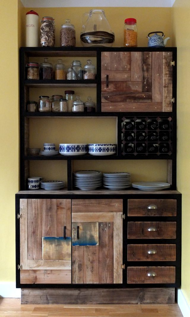 Kitchen Storage Units Pallet Cabinets Unit