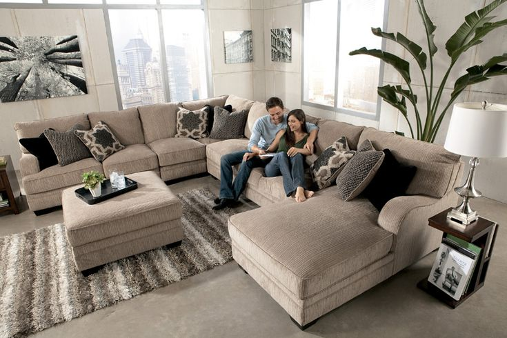 Sectional From Ashleys Love This For The Home