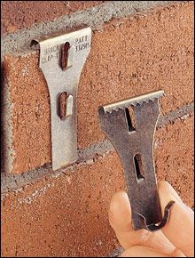Brick Clips – hanging on br