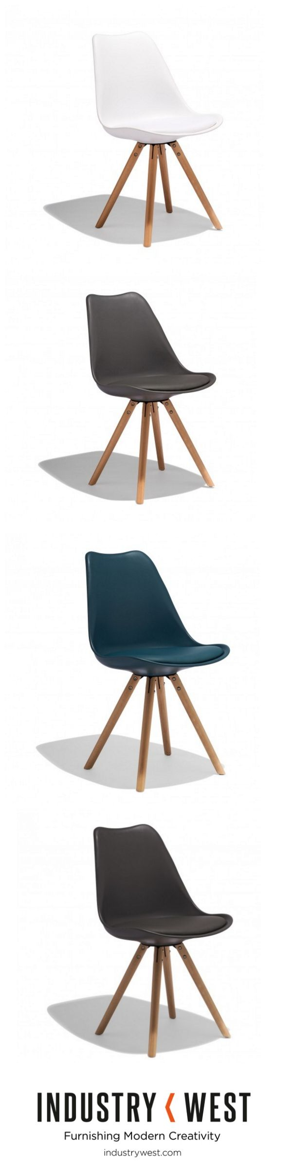 The Taka Side Chair is a new exploration of our expansion of the Lucia Collection that features solid beec