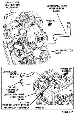 1990 23 liter ford motor diagram   1990 ford ranger: me