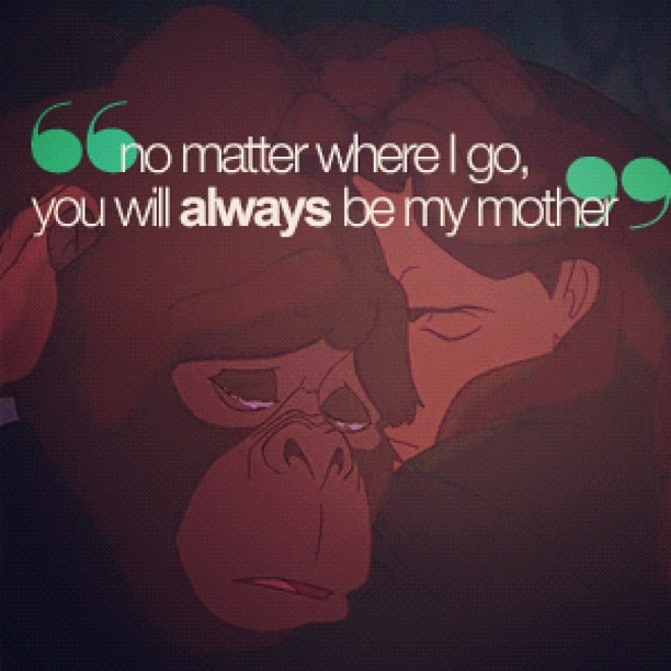 Ive only the Disney version of Tarzan once in my 7th grade Spanish class – in Spanish but it still made me tear up :)