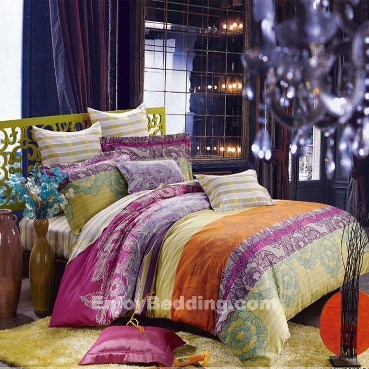 Colorful Bohemian Bedding Set Bedding Oh Ya