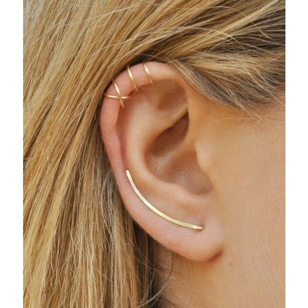 Best 20 Double Ear Piercings Ideas On Pinterest