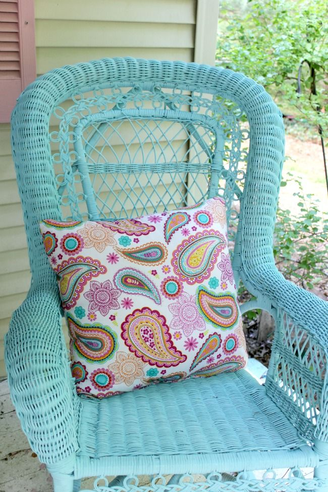 Best 25 Painted Wicker Ideas On Pinterest Painted